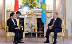 The meeting with Foreign Minister of Japan Fumio Kishida