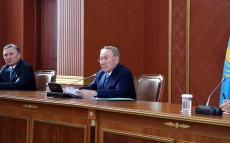 Meeting with the Karaganda region's active on socio-economic development