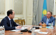 Meeting with Prosecutor General Kairat Kozhamzharov