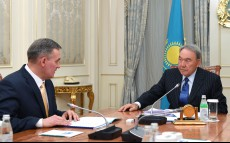 Meeting with Leonid Prokopenko, Deputy Chairman of the Assembly of the People of Kazakhstan and Head of the Secretariat