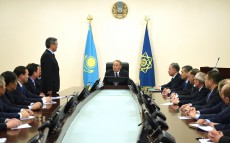 Nursultan Nazarbayev visits National Security Committee