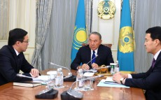 Meeting with Daniyar Akishev, National Bank Chairman