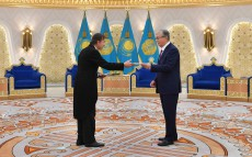 The Head of State received the Credentials from Ambassadors of a number of states