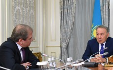 Meeting with Dmitry Pankin, Chairman of the Eurasian Development Bank Management Board