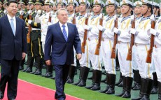 President Nursultan Nazarbayev Meets Chairman of the People's Republic of China Xi Jinping