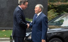 Meeting with Prime Minister of the United Kingdom David Cameron
