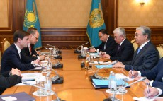 Kassym-Jomart Tokayev receives David Hale, the United States Under Secretary of State