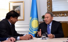 Meeting with Chairman and CEO of steel group ArcelorMittal Lakshmi Mittal